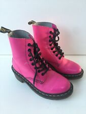 Used Dr. Martens Ladies Pink Boots ''Clemency'' Size UK4 EU37