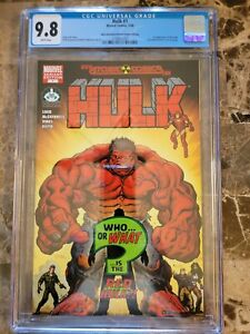 Hulk #1 CGC 9.8 1st Appearance Of Red Hulk WHITE PAGES Heroes Initiative