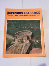 VINTAGE GUIDE TO PAMPHYLIAN CITIES: ASPENDOS AND PERGE - EXCELLENT CONDITION