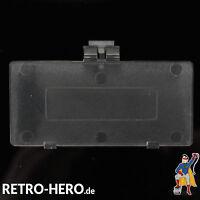 GameBoy Pocket GBP Akku Batterie Deckel Klappe Battery Game Boy Transparent Lila