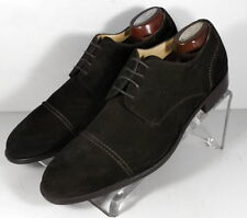 24NP1018166 SPi60 Mens Shoes Size 9 M Brown Suede Made in Italy Johnston Murphy