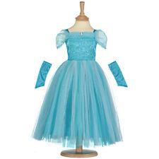 3/5 Ans Bleu Turquoise Sparkle Princesse Enfants Costume Déguisement