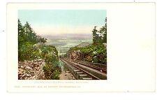 Haines Falls NY-OTIS ELEVATING RAILWAY-MOUNTAIN HOUSE-Postcard Catskill/Railroad