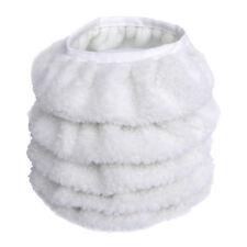 """5 x 9 """"/ 10"""" car Polisher lana sintetica Fleece Pad pulido encerado abrillantado"""