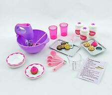 Doll Food Baking Set made for 18 inch American Girl Perfect for Grace