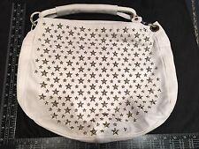 Jimmy Choo Winter White Stud Handbag