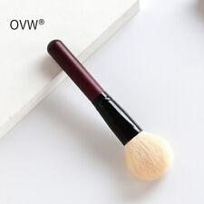 Portable Goat Hair Face Powder Brush Contour Blush Makeup Brush Travel Daily Use