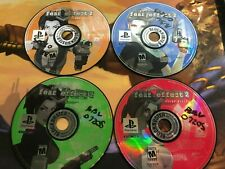 Fear Effect 2 Retro Helix PlayStation 1 PS1 4 Disc 1 2 3 4 Only Tested Working!