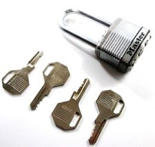 Masterlock Excell M1DLH High Security 45mm Laminated Padlock with 4 Keys