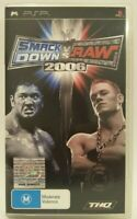 WWE Smack Down vs Raw 2006 PSP Game with Booklet EC