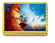 Lion King Edible Cake Topper Frosting Icing Image Decoration Party  Simba Sheet