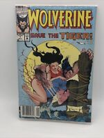 Wolverine Save the Tiger 1 High Grade Marvel One-Shot Comic Book C6