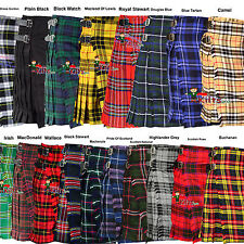 Scottish Traditional Men's 5 Yards & 13Oz Tartan Kilts - Tartan Kilt