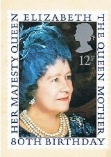 1980-carta PHQ per Queen MOTHER'S 80th birthday