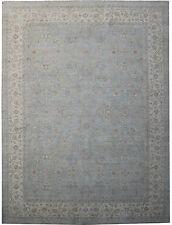 Antique Design Hand-Knotted Rug 10' x 14' Chobi Peshawar Ziegler Mahal Rug
