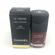 CHANEL LE VERNIS Nail Polish Colour ** 639 EXCEPTION ** BOXED