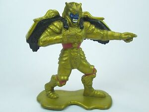 "Mighty Morphin Power Rangers GOLDAR 1993 PVC 3"" Bandai Saban Action Figure"