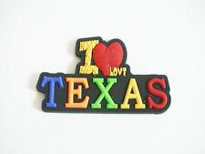 Texas Souvenir Magnet 12 Pieces (Rubber)