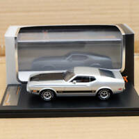 IXO Premium X Ford Mustang Mach 1 1973 1:43 Silver PRD398J Limited Edition Resin