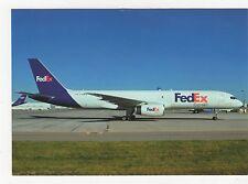 FedEx Boeing 757-2B7 Aviation Postcard, A993