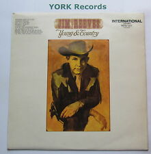 JIM REEVES - Young & Country - Excellent Condition LP Record RCA INTS 1317