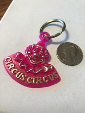 Vintage Pink  Circus Circus Las Vegas Keychain