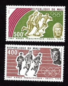 Mali 1987 pair of stamps Mi#1094-95 MNH CV=11€