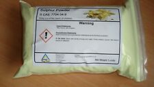 Sulphur powder  ~   1 KILO net  99.8% pure  GREAT VALUE / Free P&P ! ! !