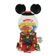 NEW Department 56 Disney Christmas Village Mickey's Gumball Emporium Building