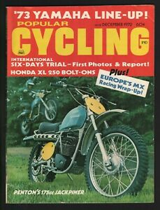1972 December Popular Cycling - Vintage Motorcycle Magazine