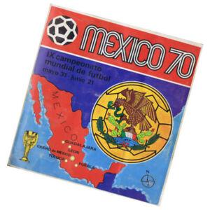 Album Mexico 70 copa del mundo / 1970 Mexico Soccer World Cup Album,