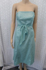 Coast  ♡ Size 10  ♡ aqua/ mint green lace strapless dress