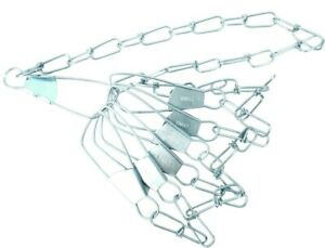 Eagle Claw 04310-005 Chain Fishing Stringer 40 Inch 7 Snap
