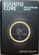 Suunto Core Multifunction Watch - Sahara Yellow Computer SS016789000