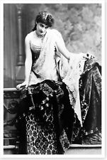 Stage Theater Actress Margaret Mather Silver Halide Publicity Photo