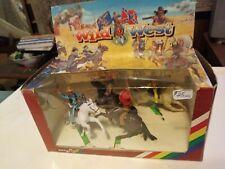 Britains Wild West 4 mounted cowboys Set 7403 rare 1992