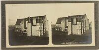 Francia Angers, El Pequeño Castillo, Foto Estéreo Vintage Analógica