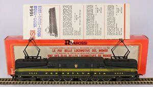 RIVAROSSI HO 1664 PRR PENNSYLVANIA GG1 ELECTRIC EXC. RUNNER LIGHTS EXCELLENT