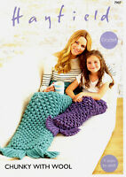 HAYFIELD CHUNKY Crochet PATTERN  7907