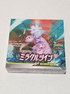 Pokemon Japanese Miracle Twins SM11 Booster Box Factory Sealed - USA Seller