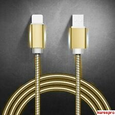 Heavy Duty Metal Braided USB Charger Cable for IPhone, for type-c, for micro