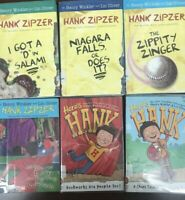 Lot Of 6 Here's Hank And Zipzer by Henry Winkler and Lin Oliver Kids Book Set