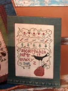 Crows Feet SamplerCross Stitch & Wool Chart From Designs by Crazy Folk