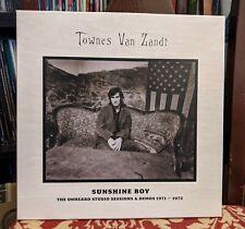 Townes Van Zandt – Sunshine Boy: Unheard Studio Demos Vinyl Box, 3 LP, RSD 2013