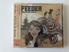 Feeder - Pushing the Senses - CD Japan Import mit Bonustracks *NEU + OVP