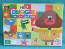 HEY DUGGEE THE TAIL WAGGING TREAT - SUPER SQUIRREL BADGE DOG NEW SEALED BBC 4 DI