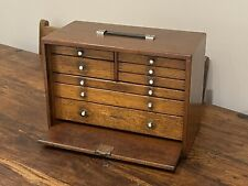 Rare Vintage Union 8 Drawer Engineers Tool Chest Toolbox Excellent Condition