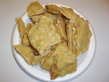 AWESOME HOMEMADE COCONUT PEANUT BRITTLE ~ MADE TO ORDER ~ 1 FULL POUND!!