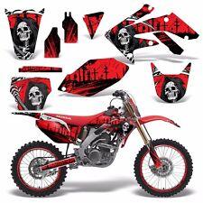 Full Graphics Kit Honda CRF250R Dirt Bike Stickers CRF250 CRF 250R 04-05 REAP R