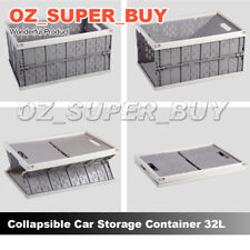 32L Crate Car Archive Box Instacrate Collapsible Folding Storage Container GW